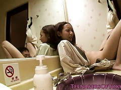 Nippon teen banged in hotel room tubes at lingerie-mania.com