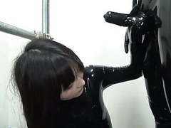 Japanese latex catsuit 92 movies