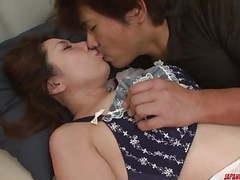 Mirei yokoyama starts with blowjob  - more at japanesemamas. movies
