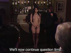 Subtitled japanese kurea hasumi wife slave auction stripping movies at kilopills.com