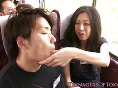 Japanese teen dicksucking and fucking in orgy tubes at japanese.sgirls.net