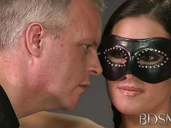 Bdsm xxx bondage master brings his cute asian sub girl movies at lingerie-mania.com