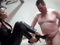 Mistress justene face slapping, verbal use, asian, femdom tubes at asian.sgirls.net