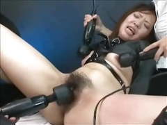 Hairy asian made to orgasm movies at lingerie-mania.com