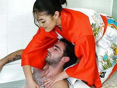 Kendra spade does special massage movies