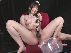 Hina maeda masturbates and has three guys cum for her tubes at find-best-asian.com