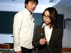 Horny japanese teacher minami kitagawa blows her students ha tubes at find-best-asian.com