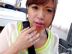 Petite japanese chick mei wakana swallows small hairy fuck s tubes at find-best-asian.com