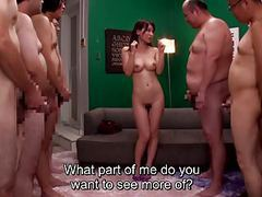 Jav milf kaho kasumi striptease for group of men subtitled movies at kilopics.net