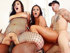 London keyes and mena interracial anal fuck tubes at find-best-asian.com