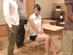 Yui oba gets fresh cock to bang her pussy and ass tubes