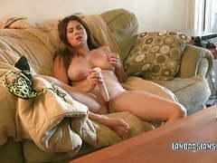 Exotic hottie mai ly fucks her pussy with a big dildo movies at find-best-lingerie.com