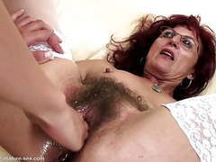 Hairy mom gets deep fisting from young girl movies at kilopics.net