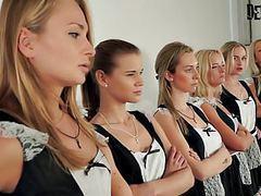 6 girls orgy sexfight for the best maid movies at reflexxx.net