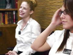 Naked mormon girls invite a mormon boy to play videos