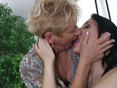 Three horny old and young lesbians go wild movies at find-best-lingerie.com