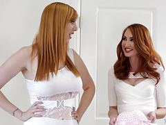 My dad's new maybe wives! - kendra james, lauren phillips movies