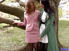 Mature lesbian getting pussylicked by british milf movies at find-best-videos.com