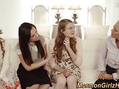 Mormon muffdived by lesbo movies at freekilomovies.com