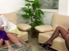 Taboo lesbian love with dirty grannies tubes