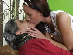 Old grandma turns young girl into lesbian movies at find-best-babes.com