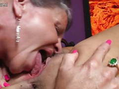 Lesbian group sex with mothers and grannies movies
