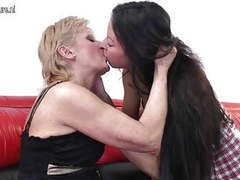 Teen daughter fucked by old lesbian granny movies