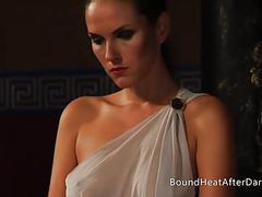Thief's punishment: body inspection with slaves and mistress movies