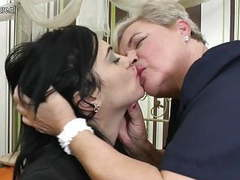 Lovely girls fucks old lesbian granny movies at freelingerie.us