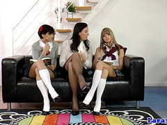 Posh british milf spanks naughty schoolgirls movies at kilopills.com