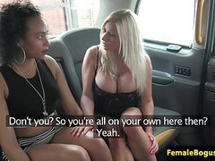 Busty female cabbie pussylicked by black brit movies at find-best-babes.com