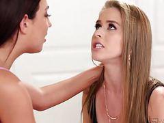 My stepsis licks my big labia! movies