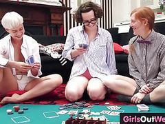 Three hairy lesbians lick and rim each other movies at find-best-lesbians.com