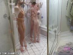 Three girl lesbian sex romp movies at find-best-babes.com