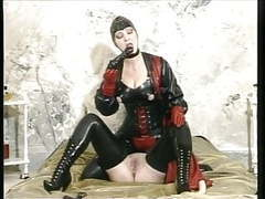 German rubber ladies taking turns movies at kilovideos.com