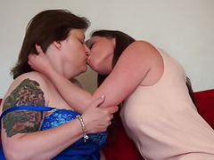 British mature mothers make lesbian love movies at freelingerie.us