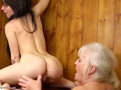 Lesbian ass and pussy licking from hairy granny movies at find-best-videos.com