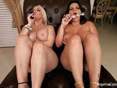 Big titted cubans! angelina castro & bedelli buttland! movies at freelingerie.us