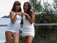 Lovely weekend by sapphic erotica - amirah and victoria videos