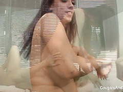 Milf masseuse seduces her hot brunette client movies at kilotop.com