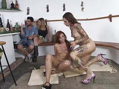 Chicas loca - wild lesbian public sex with fiery latinas movies at find-best-babes.com