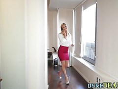 Busty milf rides strapon movies at find-best-ass.com