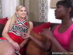 Ana foxxx and scarlet red having an interracial lickfest tubes