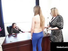 Horny student kimber lee punished by principal jay & teacher movies at freekilomovies.com