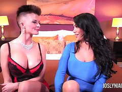Joslyn james and amy anderson take turns giving orgasms movies at find-best-babes.com