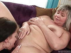 Old milf still enjoying licking pussies and playing w toys movies at nastyadult.info