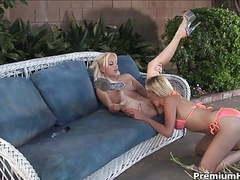 Blonde head taking off bikinis movies at find-best-ass.com