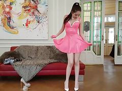 19 years old rebecca volpetti leather latex and high heels movies at nastyadult.info