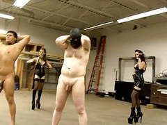 Two doms whip their slaves movies at find-best-panties.com