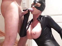 Latex catsuit fuck movies